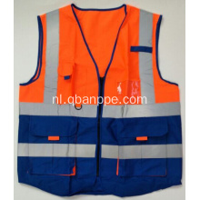 Biocolor high visibility reporter vest reflecterende tape